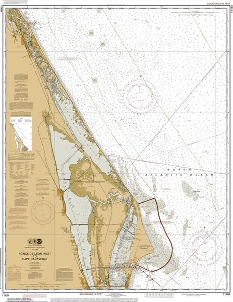 Fort Myers Honda >> Florida Fine Art noaa nautical charts, canvas