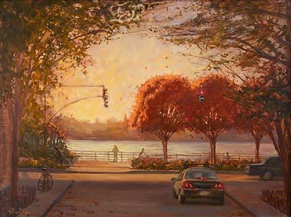 Three Trees Autumn