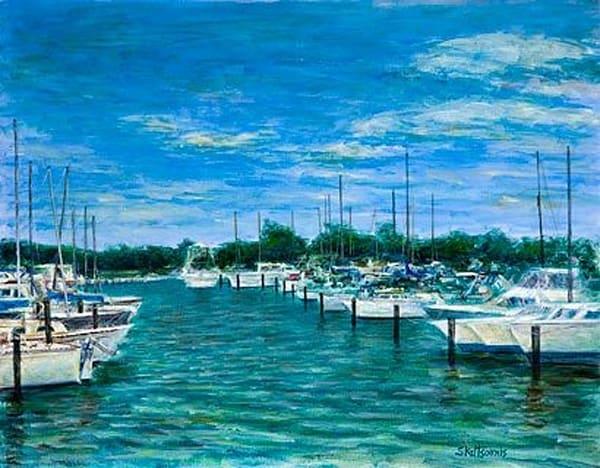 Harbor Scene III