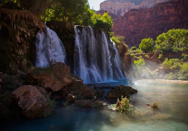 landscape, photography, Grand Canyon, Navajo Falls, Havasu Canyon
