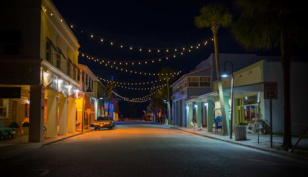 photography, nocturne,  Florida, St. Pete Beach