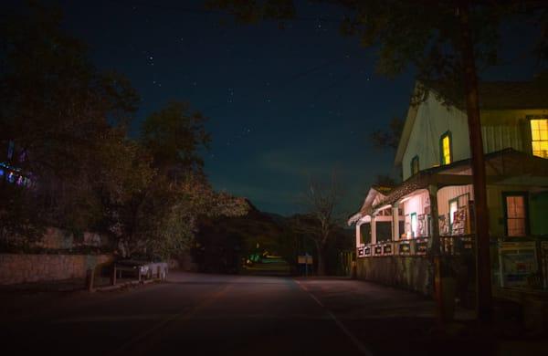photography, nocturne, Santa Fe, Madrid, New Mexico, Southwest