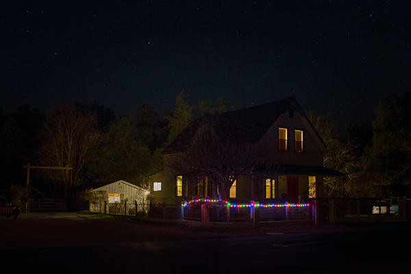 Photography, Nicasio, nocturne, California, Marin County