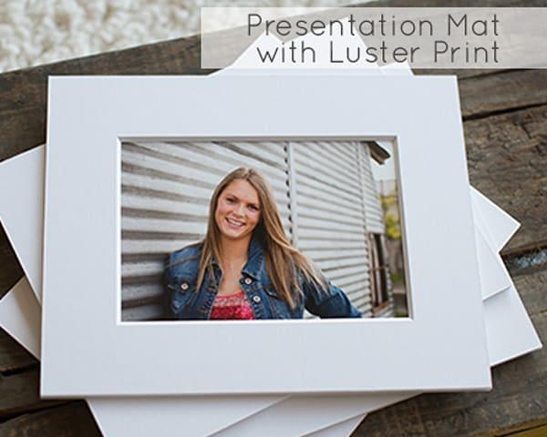 Presentation Mat Prints - Luster Prints