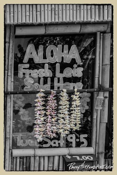 Aloha Lei Stand Hana Old