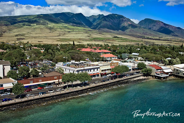 Front Street West Maui Mountains