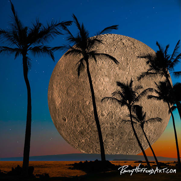 Hawaiian Super Moon