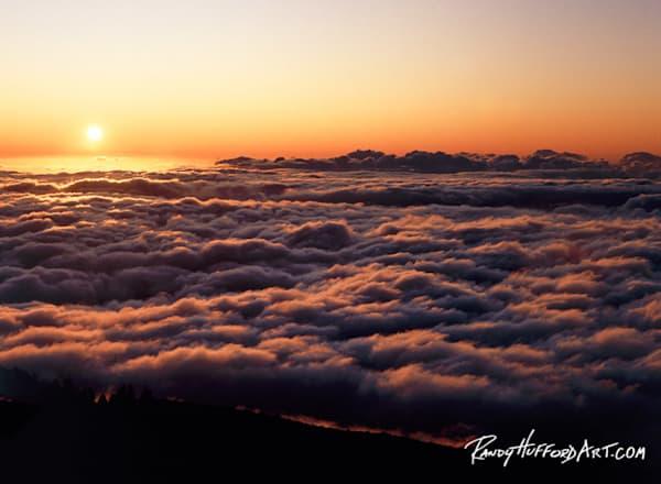 Layered Haleakala Sunset
