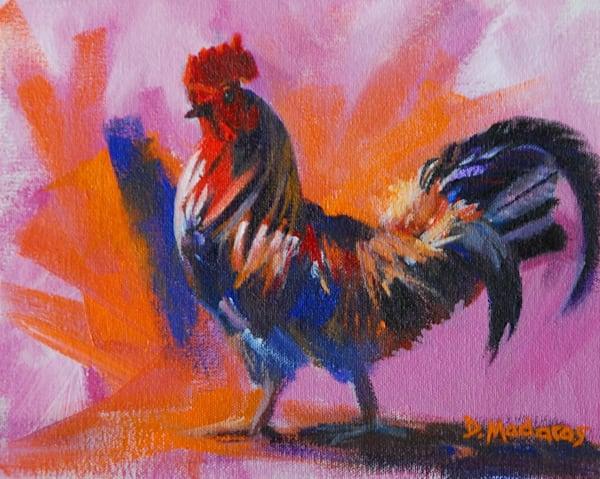Fancy Rooster   Southwest Art Gallery Tucson   Madaras