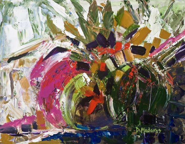 Barrel Plumes | Southwest Art Gallery Tucson | Madaras