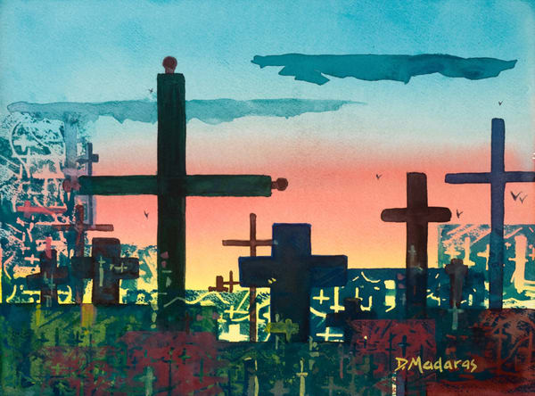 Crosses for Stanislaw | Southwest Art Gallery Tucson