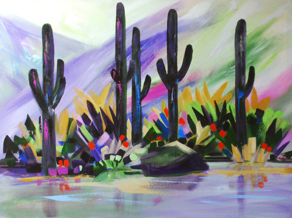 Edge of the Wash | Southwest Art Gallery Tucson | Madaras