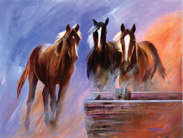 Running from the Storm | Southwest Art Gallery Tucson