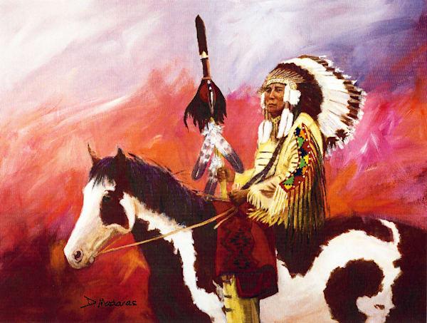 Lakota Chief | Southwest Art Gallery Tucson | Madaras
