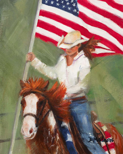 Cowgirl Color Guard | Southwest Art Gallery Tucson