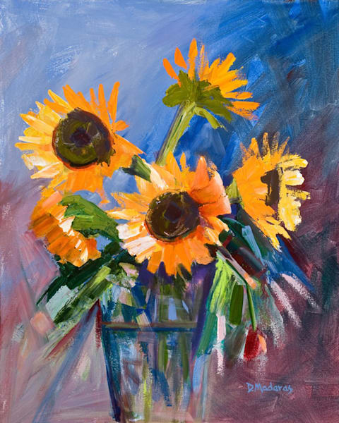 Sunflowers at the Ranch | Southwest Art Gallery Tucson
