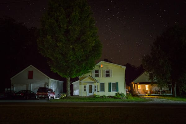 nocturne, vermont, photography, Pittsfield