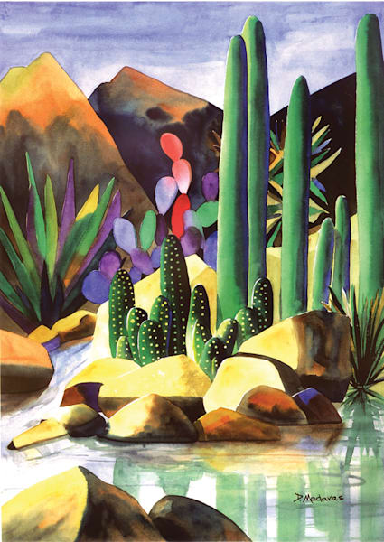 Creekside | Southwest Art Gallery Tucson | Madaras
