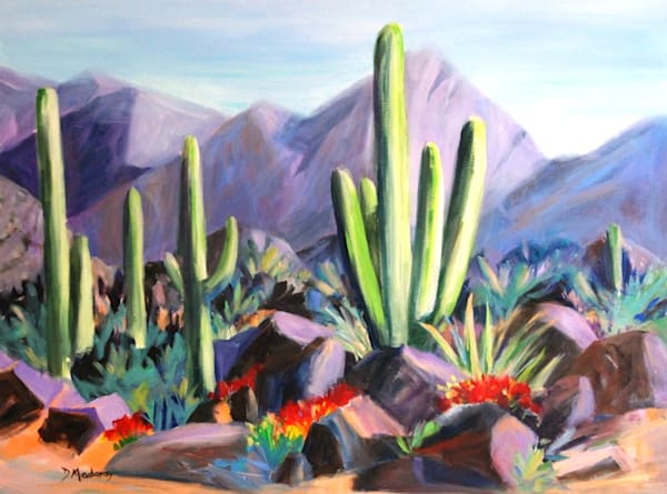 Fivesome at Stone Canyon | Southwest Art Gallery Tucson