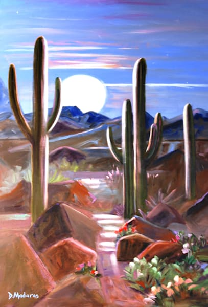 Full Moon | Southwest Art Gallery Tucson | Madaras