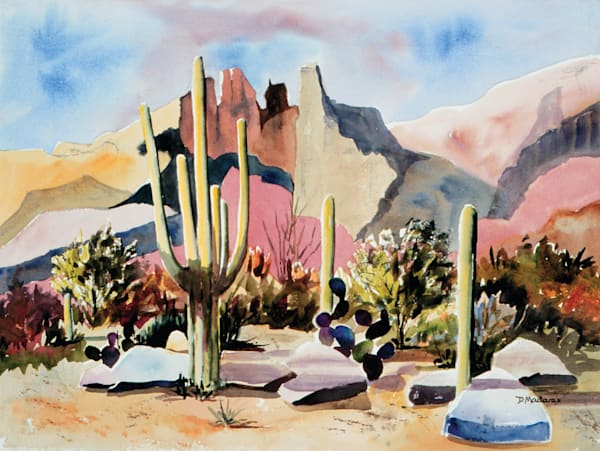 Armand's Finger Rock | Southwest Art Gallery Tucson