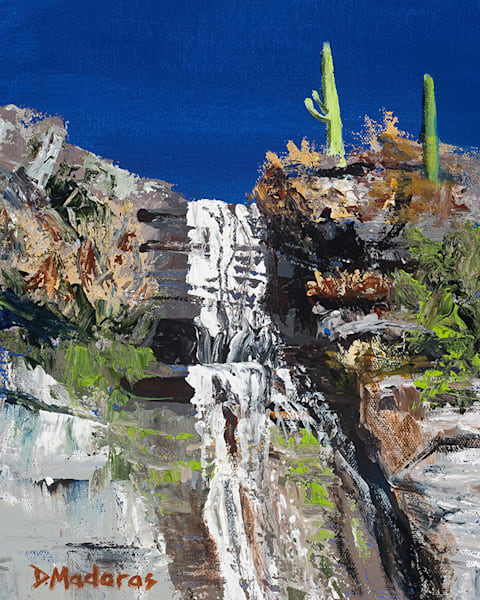 Falls at Ventana | Southwest Art Gallery Tucson | Madaras