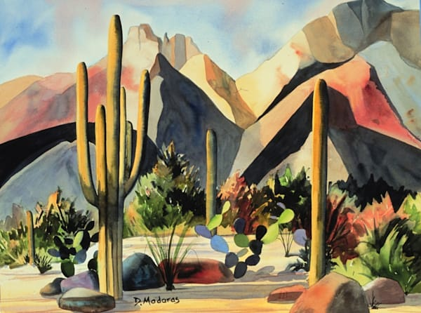 The Catalinas | Southwest Art Gallery Tucson | Madaras