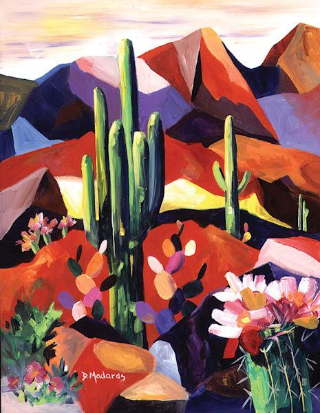 Desert Bloom | Southwest Art Gallery Tucson | Madaras