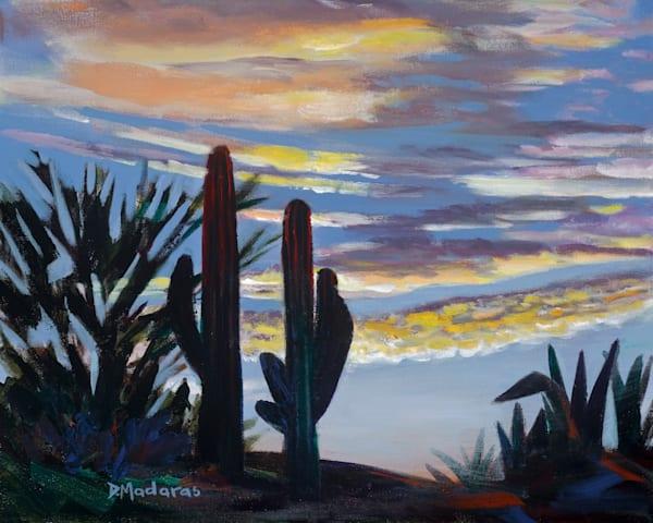 Sunrise Near Swan Road | Southwest Art Gallery Tucson