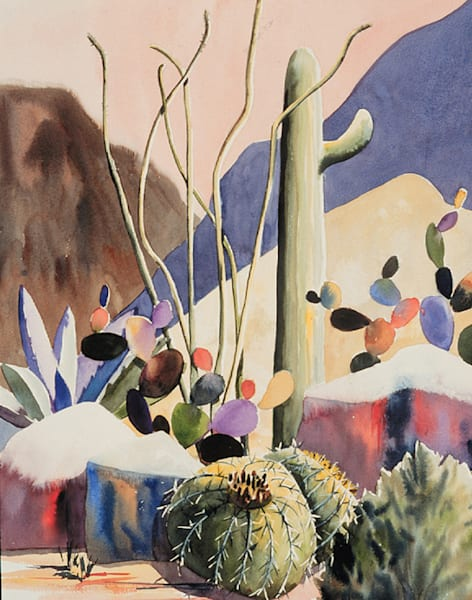 Cactus Cove | Southwest Art Gallery Tucson | Madaras Gallery