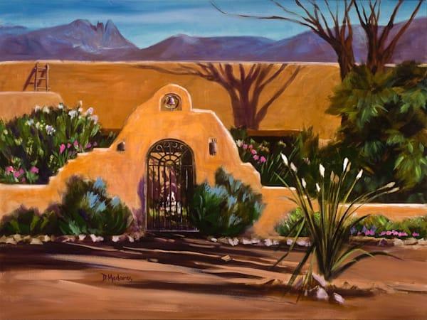 Hacienda at Finger Rock   Southwest Art Gallery Tucson