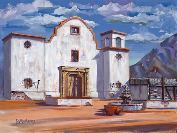 Old Mission | Southwest Art Gallery Tucson | Madaras