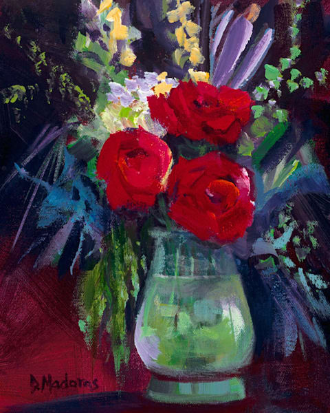 Three Sister Roses | Southwest Art Gallery Tucson