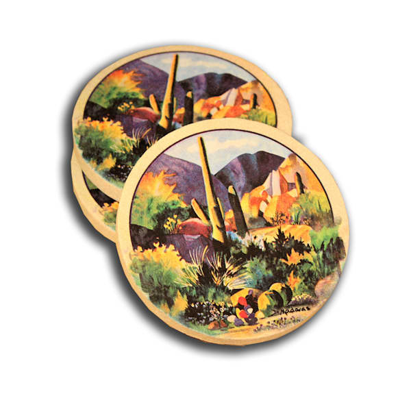 Boulders II Coaster Set by Diana Madaras