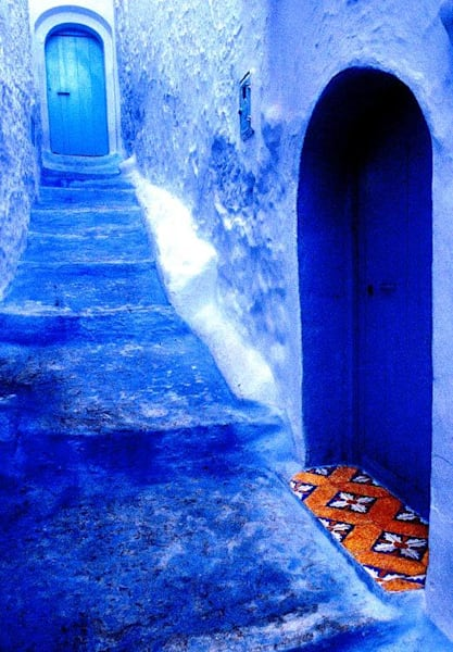 Blue Walkway