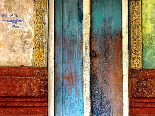 Temple Door Closeup
