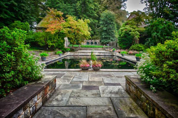 Winterthur Mansion Pool Fine Art Photograph | JustBob Images