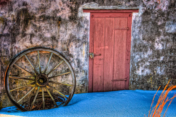 Wheel and Door Fine Art Photograph | JustBob Images