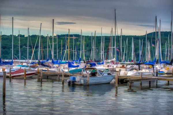 Harbor at Watkins Glen Fine Art Photograph | JustBob Images
