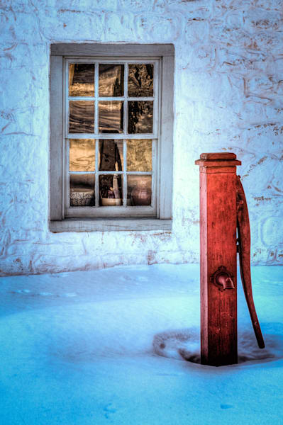 Pump and Window Fine Art Photograph | JustBob Images