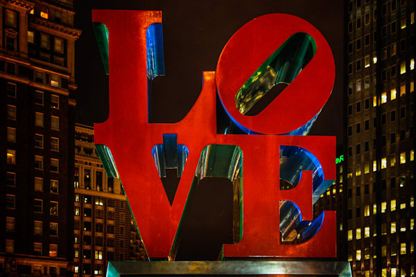 Love Park Fine Art Photograph | JustBob Images