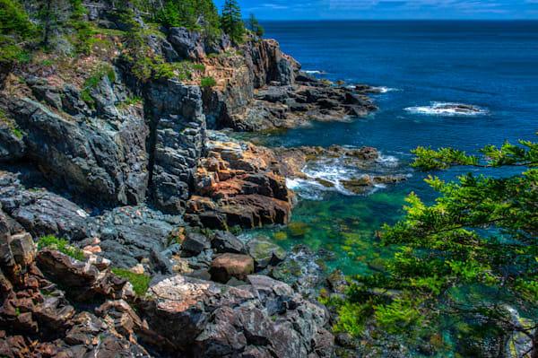 Acadia Shoreline #2 Fine Art Photograph | JustBob Images