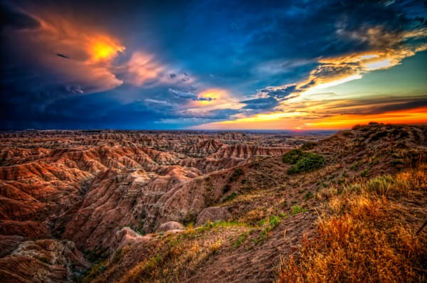 Badlands After Storm #3 Fine Art Photograph | JustBob Images