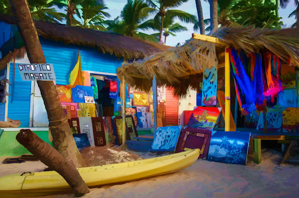 Beach Shops #3 Fine Art Photograph | JustBob Images