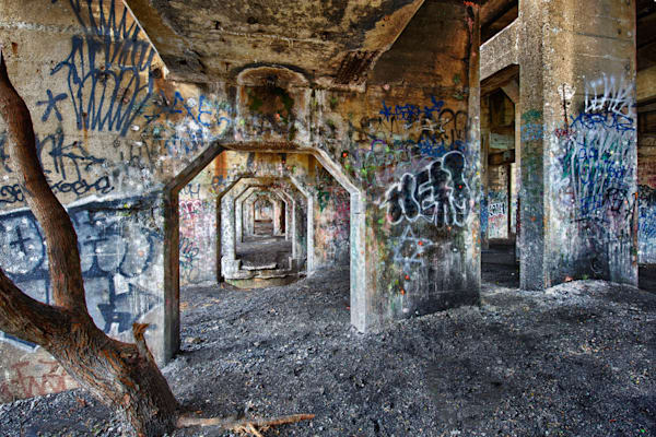 Graffiti Underground Expanded Fine Art Photograph | JustBob Images