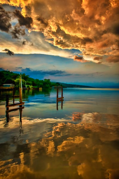 Seneca Lake Sunset Fine Art Photograph | JustBob Images