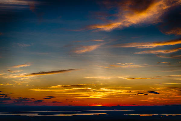Sunset from Cadillac Mountain Fine Art Photograph | JustBob Images