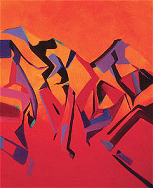 Mountain Mambo III | Southwest Art Gallery | Madaras