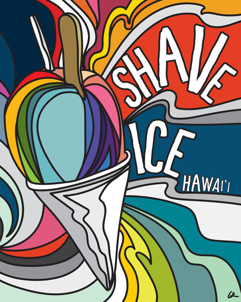 Lifestyle Prints | Shave Ice Hawaii
