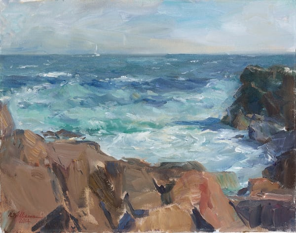 Bass Rocks Art | capeanngiclee